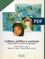 Gentili, P (Comp) - Cultura, Política y Currículo
