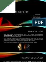 Leyes de Kepler-Física