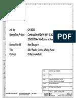 33kV Feeder Control & Relay Panel - 25.04.17