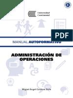 A0006 MA Administracion de Operaciones ED1 V1 2015