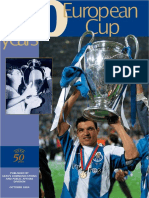 50 Years European Cups