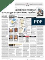 Israelíes y palestinos retoman el diálogo entre viejos recelos