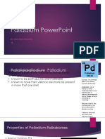 Ron Rosario- Palladium PowerPoint