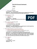 Module 04 Electronics Fundamentals Aircraft License Com