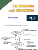 Sketsa Paradigma Dan Teori Pembangunan