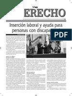 Inserción Laboral de La Personas Con Discapacidad - Autor José María Pacori Cari