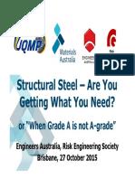 EA Risk Society 2015-10-27 - Steel Standards Final