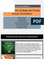 Karakteristik, Strategi dan Proses Inovasi Pendidikan