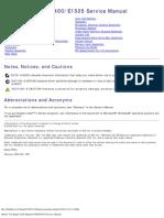 Dell Inspiron E1505_6400 Service Manual