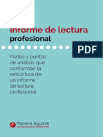 Estructura Informe de Lectura