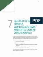 Cálculo de Carga Térmica Simplificado Para Split