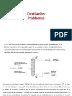 Clase 7 Ejercicio de Destilacion