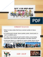 Street and Hip-hop Dances