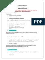 Preguntas Guia Derecho Sucesorio