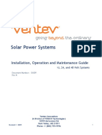 Solar Inst,Op,Maint Manual RevA 465162