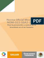 NOM-022-SSA2-2012