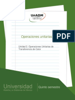 Unidad 2. Operaciones unitarias de transferencia de calor