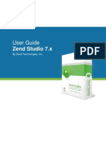 Zend Studio 71 User Guide