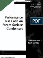 PTC12.2-Steam Surface Condenser