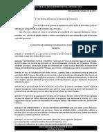 ITAC - Marco Legal - Decreto Nº 1152-71- Policía Adicional