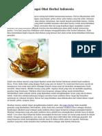 Mahkota Dewa Sebagai Obat Herbal Indonesia