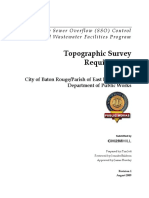 Topo Survey Reqs