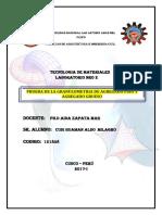 Granulometria Agr. Fino