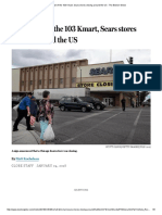 The Full List of the 103 Kmart, Sears Stores Closing Around the US - The Boston Globe