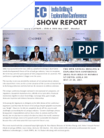 Post Show Report 10th Annual India Drilling and Exploration Conference