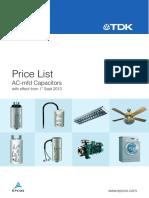 Price List Ac Mfd Mrp 1sept2013