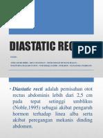 Penatalaksanaa fisioterapi pada Diastatic Recti
