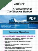 Ch_9. Simplex Method