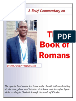 Book of Romans Commentary