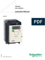Schneider ATV12 Modbus Comm Manual