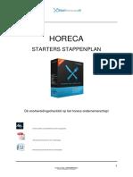 Horeca Starters Stappenplan Starthoreca.nl - Versie 12-2015