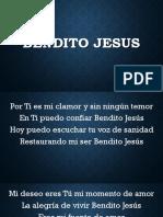 Bendito Jesus