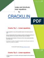 linear equations concepts and formulas for CAT cracku pdf.pdf