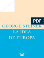 Steiner, George - La Idea de Europa [34305] (r1.1)