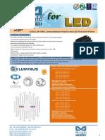 ELED-LUN-7050 Luminus Modular Passive Star LED Heat Sink Φ70mm