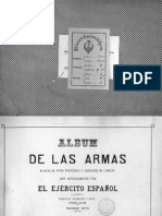 Álbum de las Armas del Ejército Español. 1876