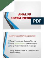 Analisis Sistem Informasi