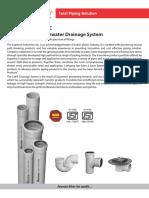 6 SWR Drainage System