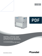 Condensing Dehumidifier Manual