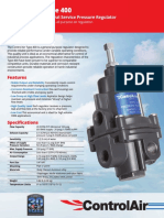 Control Air Pressure Regulator 400