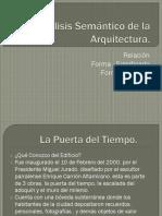 Análisis Semántico de La Arquitectura