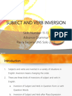 SUBJECT AND VERB INVERSION.pptx
