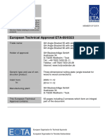 ETA - 090323 - Rothoblaas Angle Brackets