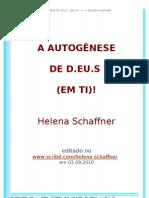 A AUTOGÊNESE DE  D.EU.S
