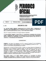 Nueva Ley de Transparencia y Acceso a La Información Pública Del Estado de Tabasco Decreto 235