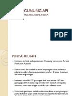 - Mitigasi bencana Gunungapi